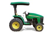 John Deere 3203 tractor photo