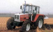 Steyr 8090 tractor photo