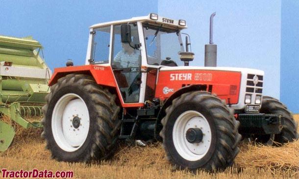 Tractordata Com Steyr 8110 Tractor Photos Information