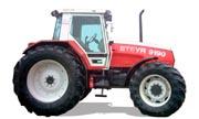 Steyr 9160 tractor photo