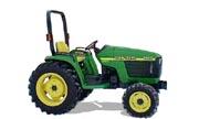 John Deere 4400 tractor photo
