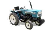 Mitsubishi D1500 tractor photo