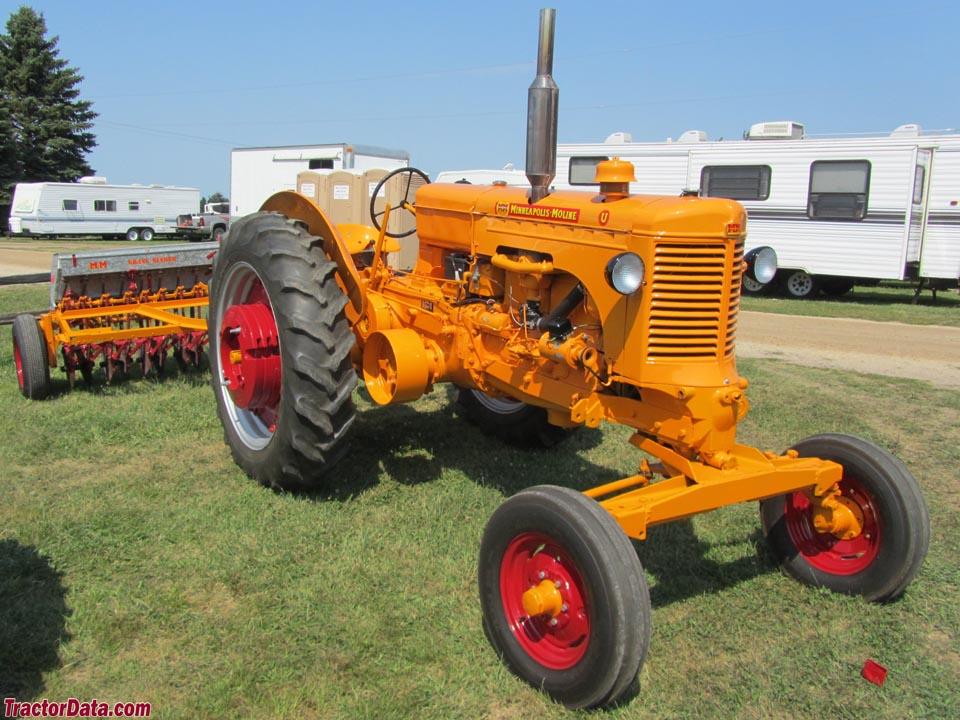 Minneapolis Moline Models : Tractordata minneapolis moline utu tractor photos