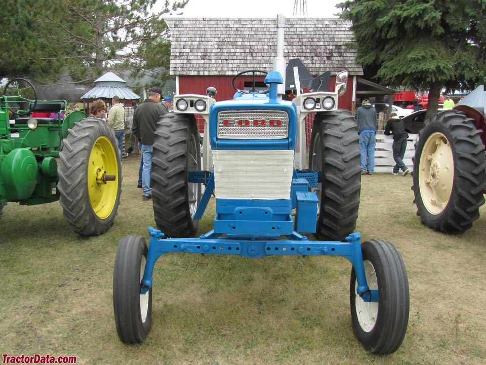 Ford Row Crop Tractors : Tractordata ford tractor photos information