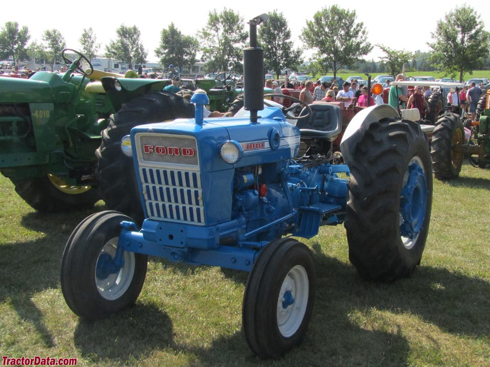 Ford 4000 Diesel Tractor : Ford cylinder diesel tractor