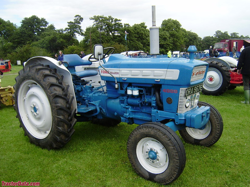 European Ford 4000 Major, right side.