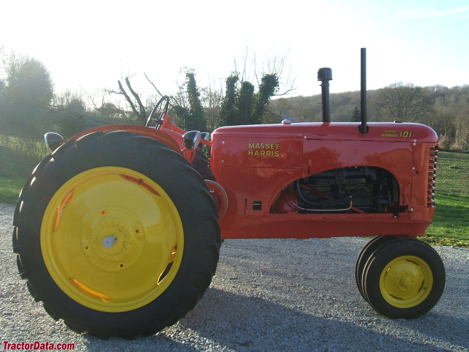 Massey-Harris 101 Senior row-crop tractor.