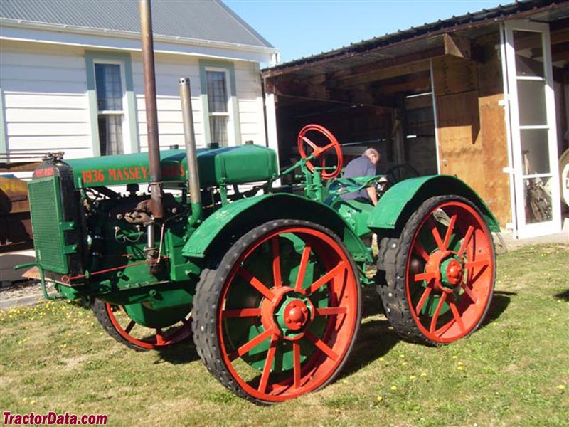 Massey Harris GP number 303001 at the Taihape Museum in New Zealand.