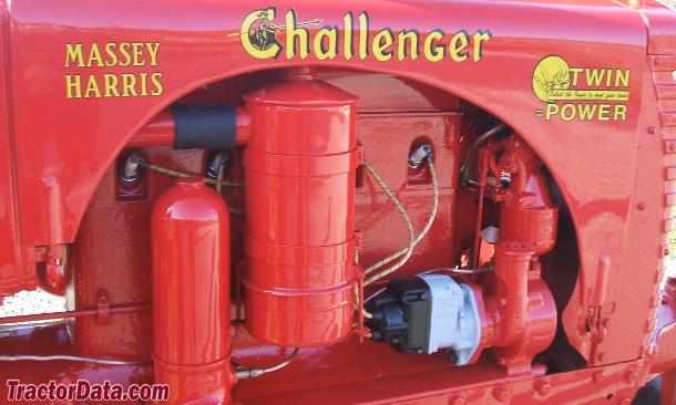Massey-Harris Challenger  engine photo