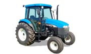 New Holland TD75D tractor photo