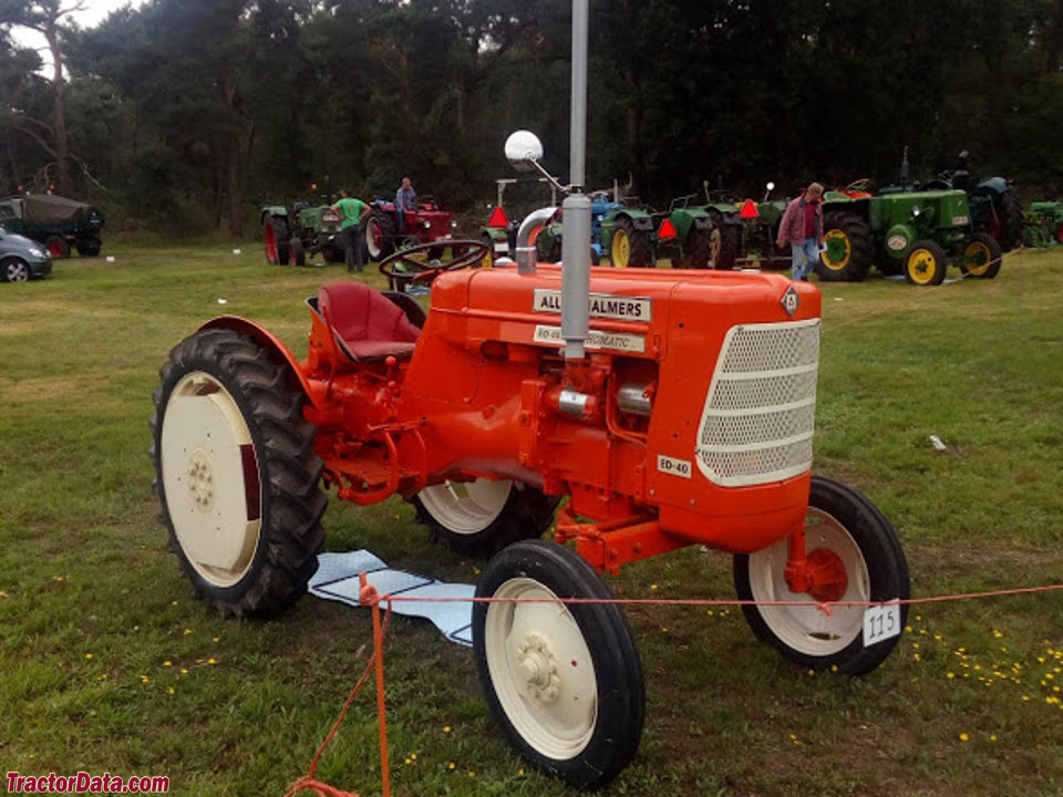 Allis-Chalmers ED40, right side.