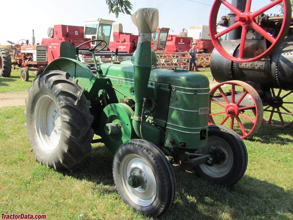 Field Marshall Series II tractor.