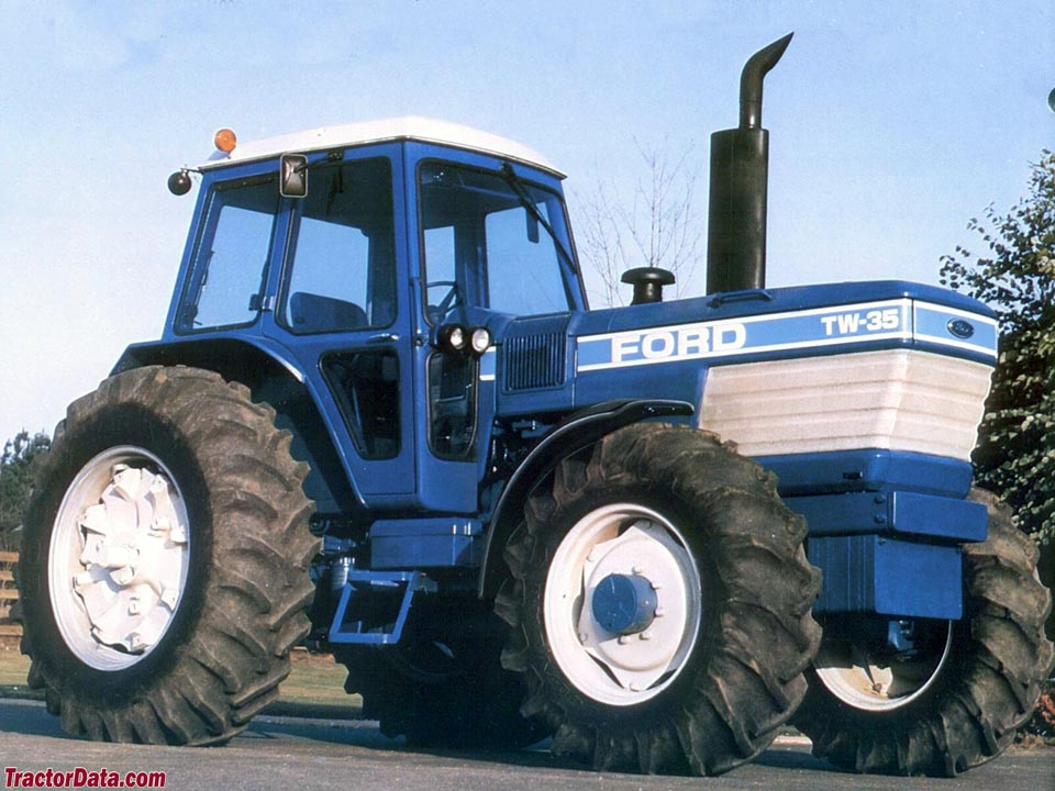 Ford Tw 35 Tractor Parts : Ford tractors autos post