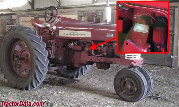 TractorData com Farmall 350 tractor information