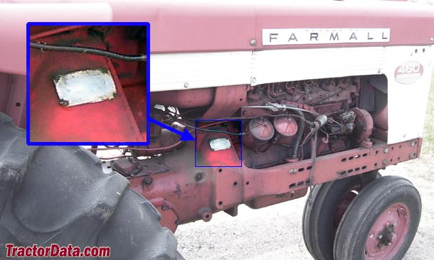 Farmall 460 Brake Diagram : Tractordata farmall tractor information