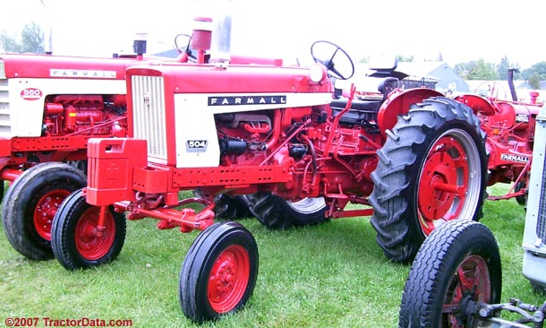 Tractordata Com Farmall 504 Tractor Photos Information