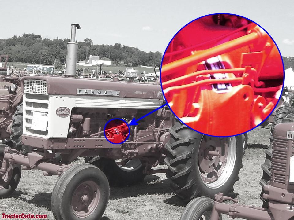 TractorData.com Farmall 560 tractor information on
