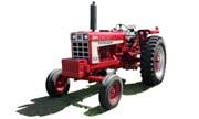 Farmall 666 tractor photo