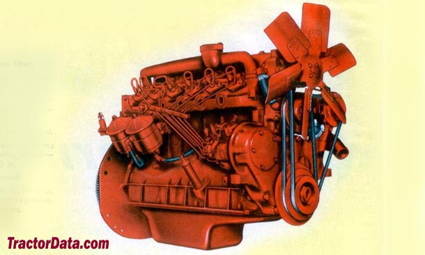 Farmall 706  engine photo