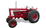 Farmall 806 tractor photo