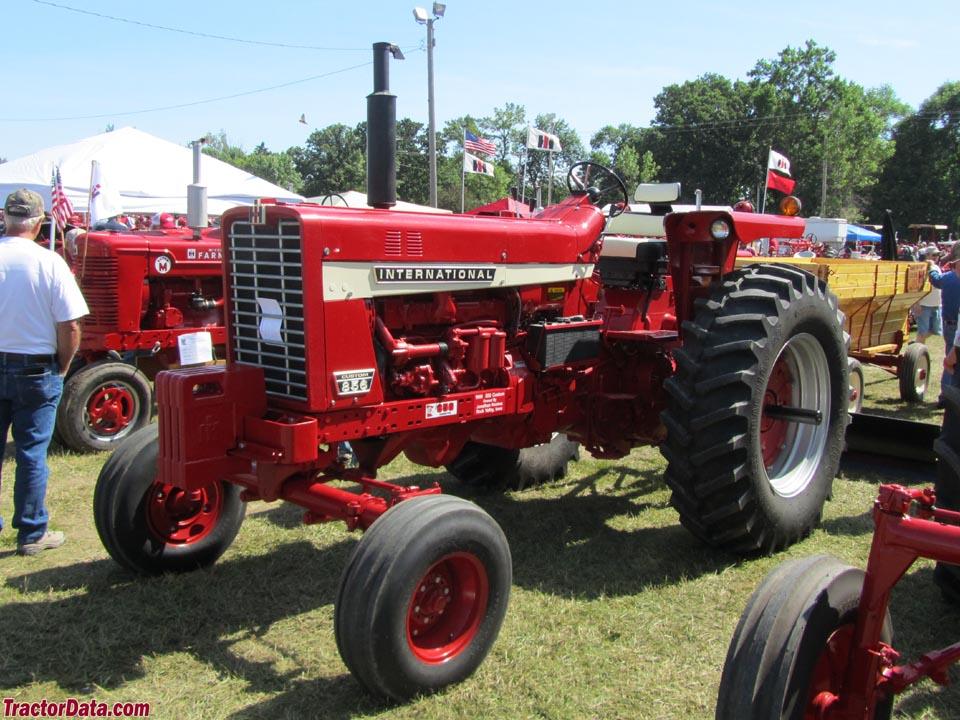 Ih 856 Tractor : Tractordata farmall tractor photos information