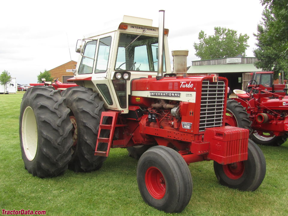 Farmall 1456 with cab.