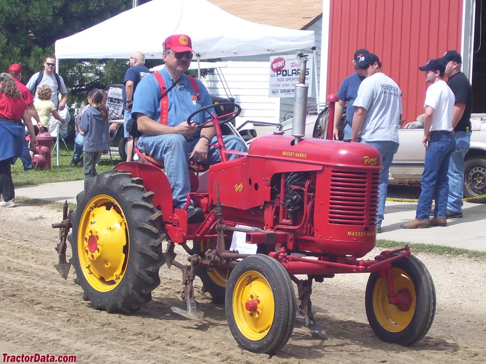 Massey-Harris Pony with cultivators, right side