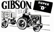 Gibson Super D tractor photo