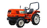 Hinomoto NX240 tractor photo