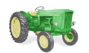 John Deere 505 tractor photo