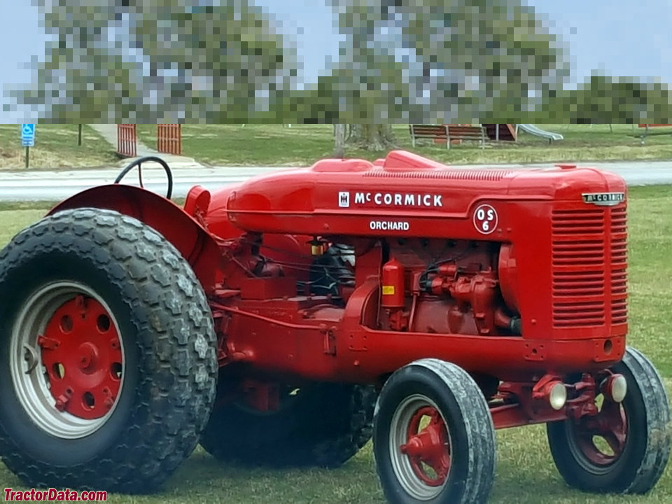 McCormick OS-6, right side.
