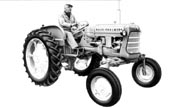 Allis Chalmers D12 High Clearance tractor photo