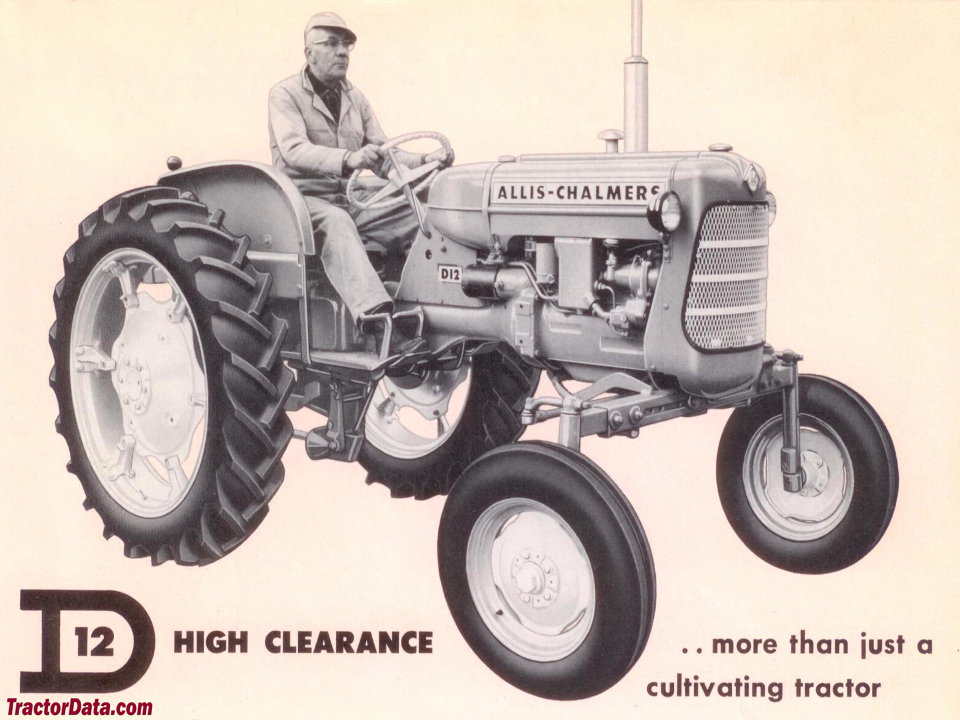 Allis Chalmers D12 High Clearance