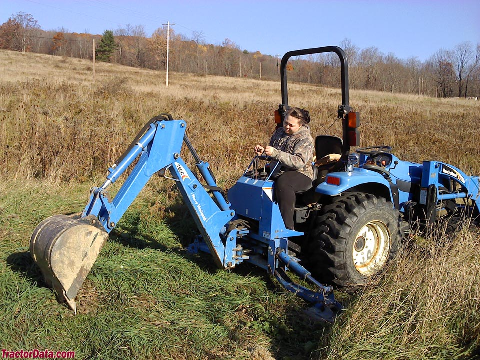Tractordata Com New Holland Tc29da Tractor Photos Information