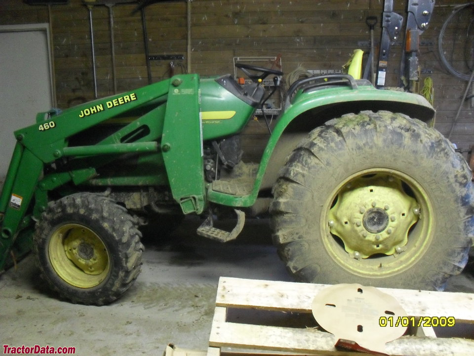 John Deere 4510, left side.