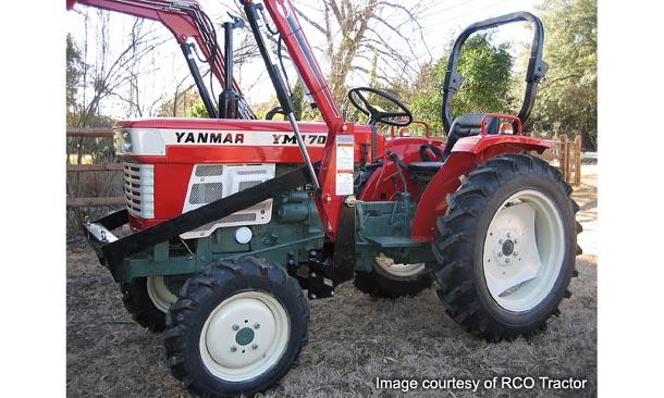 Yanmar Tractor Battery : Yanmar tractor