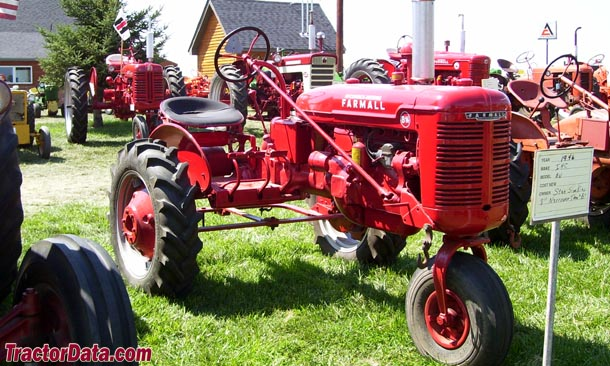 Farmall BN Tractors for Sale http://www.tractordata.com/farm-tractors/005/1/2/5121-farmall-bn-photos.html