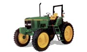 John Deere 7410 Hi-Crop tractor photo