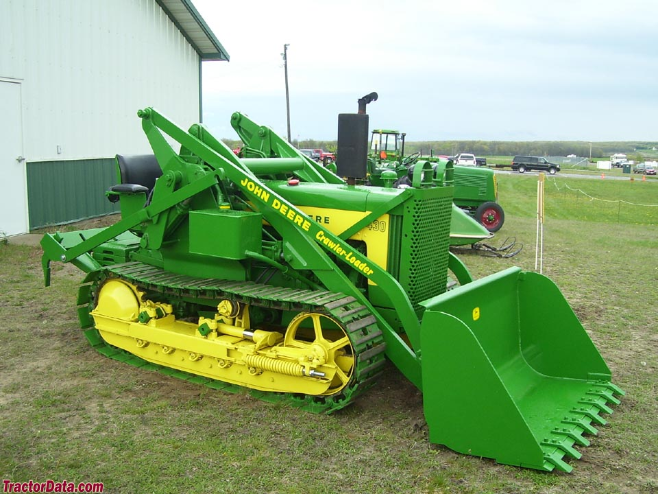 John Deere 430C with model 90 loader