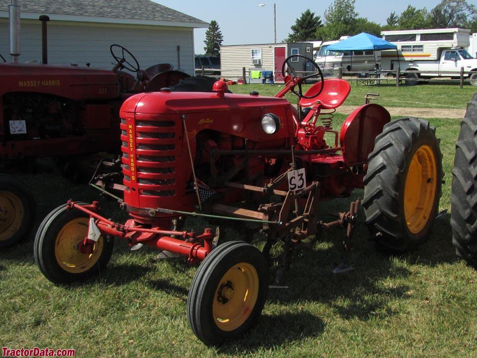 Massey Harris Tractor : Tractordata massey harris mustang tractor photos