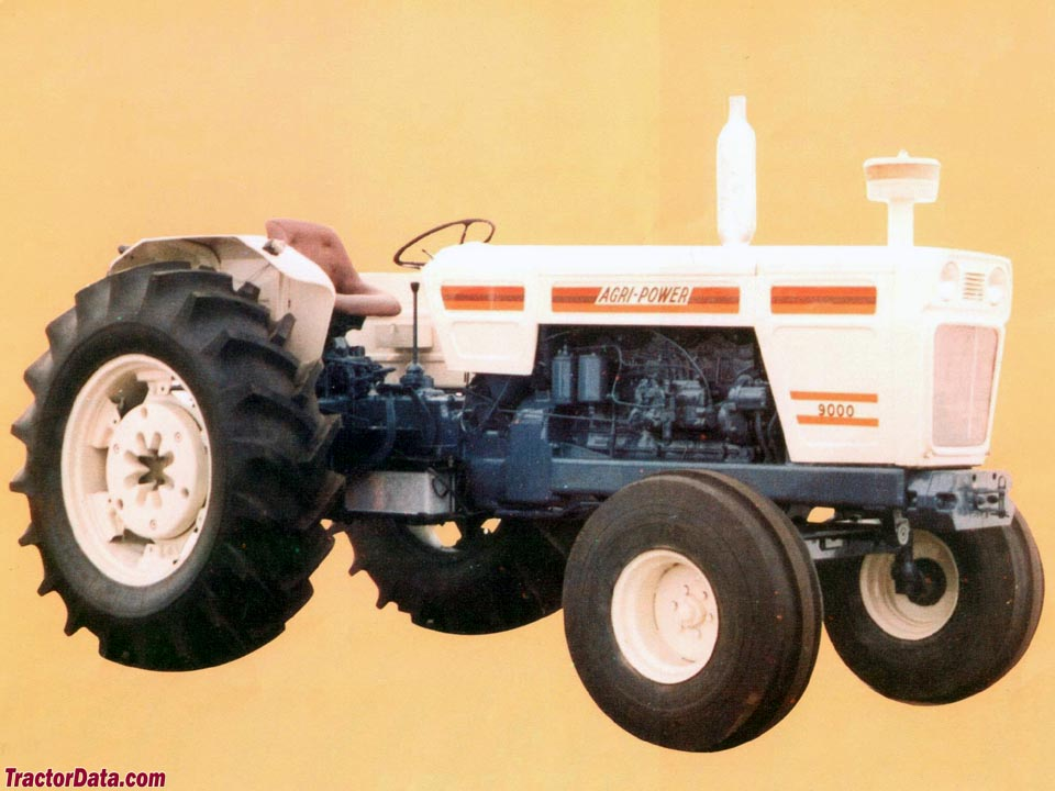 Marketing photo of the Agri-Power 9000.