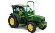 John Deere 100F tractor photo