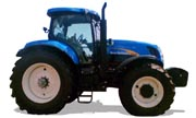 New Holland T7040 tractor photo