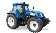 New Holland T7550 tractor photo