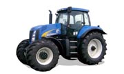 New Holland T8020 tractor photo