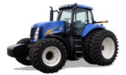 New Holland T8040 tractor photo