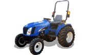New Holland TC34DA tractor photo