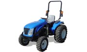 New Holland T2210 tractor photo