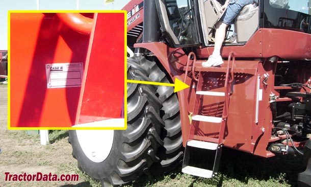 CaseIH Steiger 335 serial number location