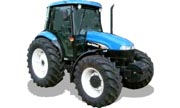 New Holland TD85D tractor photo